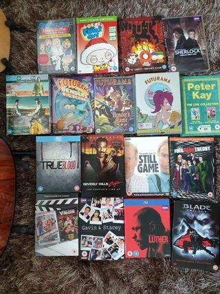 DVD Movies series