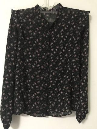 Uniqlo size L Flower Ruffle