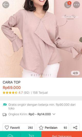 Caria top by mayoutfit