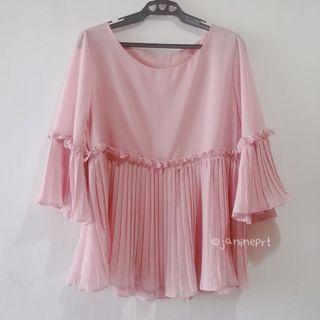Korean Brand Top with Frills