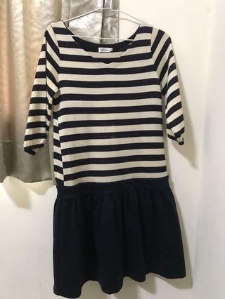 🚚 Bon mercerie 日本製 V領針織洋裝