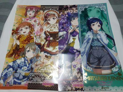 Anime Poster - Love Live Mix Plastic Poster