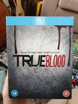 True Blood DVD Seasons 1-4