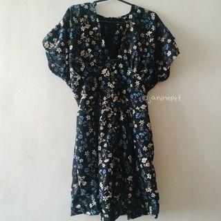 Floral Romper Dress
