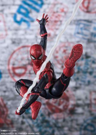 🚚 VERY RARE & HOT! *Urgent Pre-Order* Bandai Tamashii Japan S.H. Figuarts SHF Spiderman Far From Home - Spiderman Upgrade Suit Figure (Japan Version)!
