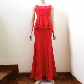 Red Ball Gown #OYOHOTEL