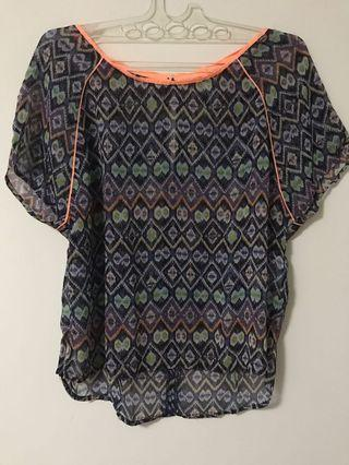 Stradivarius size S Tribal