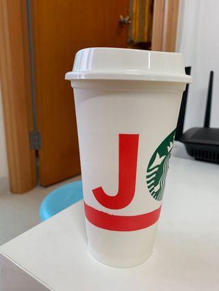 Starbucks杯