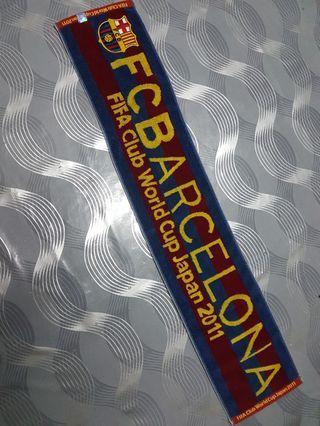 FC Barcelona gym towel
