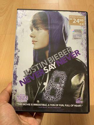 Justin Bieber: NEVER SAY NEVER movie CD