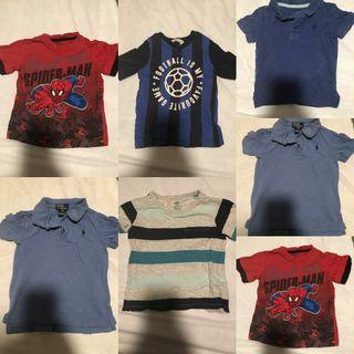 Boys Tshirt 2-4 years old
