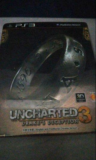 UNCHARTED 3 Drake's Reception PlayStation3 PS3 Limited Edition Game