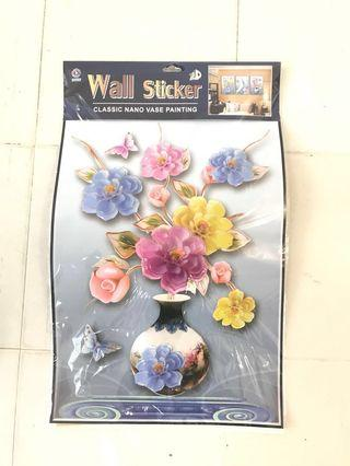 🚚 FREE 3D Wall Sticker Flowers