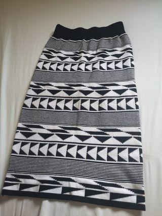 Aztec Pencil Skirt