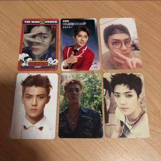 🚚 EXO Sehun Official Photocards