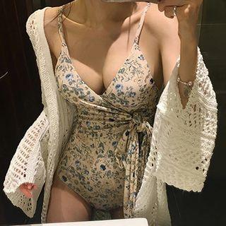 韓國性感綁帶泳衣