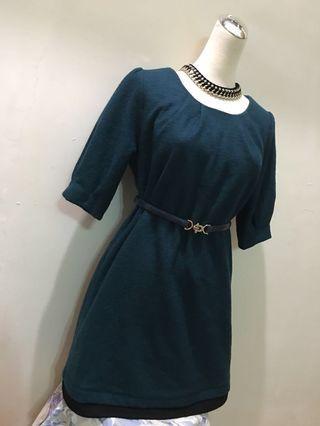正韓 厚質感洋裝#半價衣服拍賣會