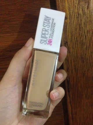 Maybelline Superstay Foundation - 120 classic ivory