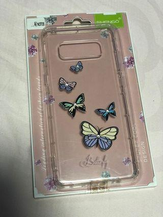 🚚 Samsung Note 8 butterfly case