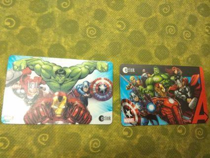 Marvel Avengers ezlink card