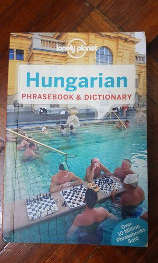 Hungarian Phrasebook & Dictionary by Lonely Planet