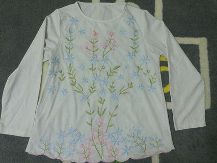 Floral Blouse S-M
