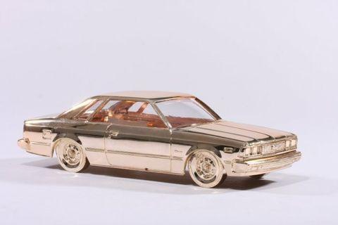 【老東西商店】日本早期 老古董老收藏絕版CORONA1978金屬汽車模型-室內裝飾 儲存置物 生活美學 古美藝術 值得典藏 保真特推