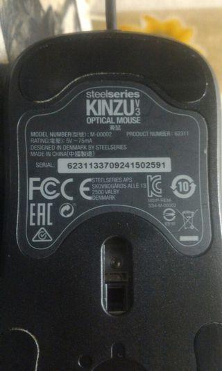 Kinzu v3 optical mouse
