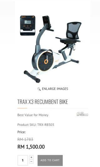 Recumbent Bike Fitness Concept