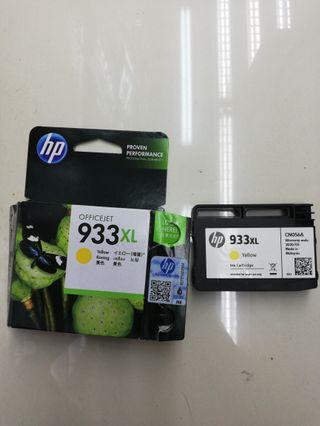 HP ink 933xl yellow (買錯,已開)