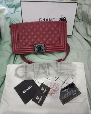 Chanel Boy / tas chanel / chanel bag
