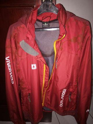 Jaket Outdoor Consina ukuran (M) Medium