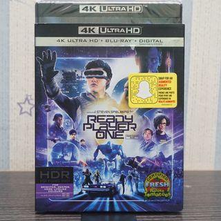 Ready Player One 4k Ultra HD Blu-ray