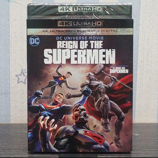 Reign Of The Supermen 4k Ultra HD Blu-ray