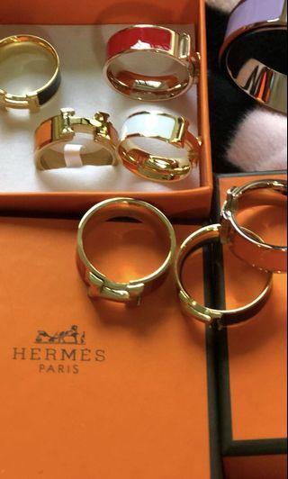 🚚 Hermes Rings