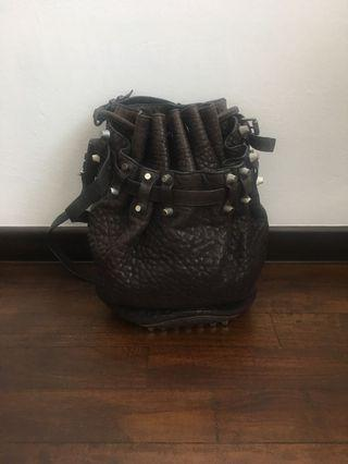Alexander Wang Diego Bucket Bag in Espresso