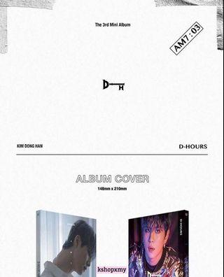 "Kim Donghan 3rd Mini Album - ""D-HOURS AM 7:03"""