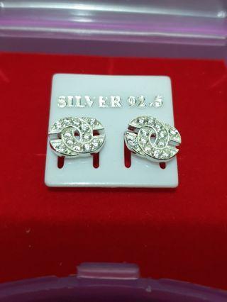 BN Real Silver Earrings