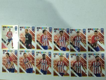 Adrenalyn Fifa 365 Atlético De Madrid