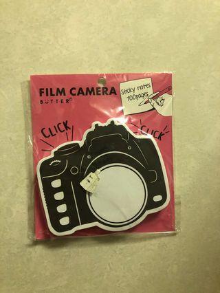 全新未開封 韓國 文具 相機 memo 紙