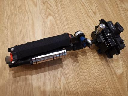 Camera Stabiliser with Giottos quick release plate