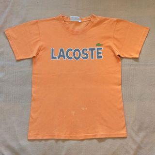 Lacoste Orange Shirt