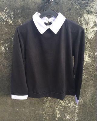 Sweater Kemeja