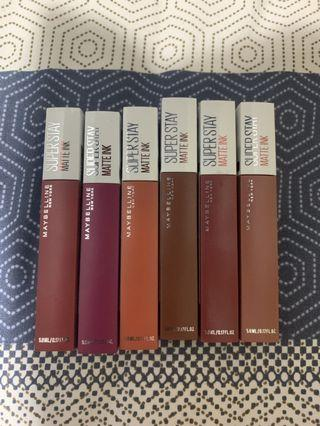 DELICATE Maybelline Superstay Matte Ink Lipstick