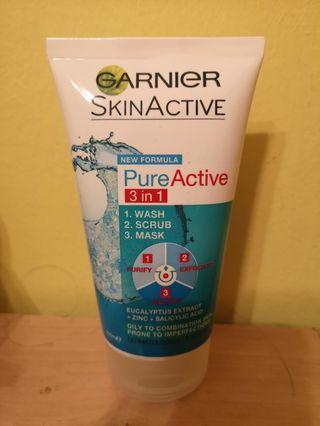 🚚 Garnier Skin Active 3in1 150ml