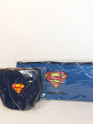 Superman pencil case and pouch