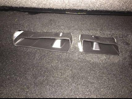 Aircon Duct cover under seat. Seat Leon Mk3, Audi A3