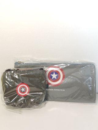 🚚 Captain America pencil case and pouch