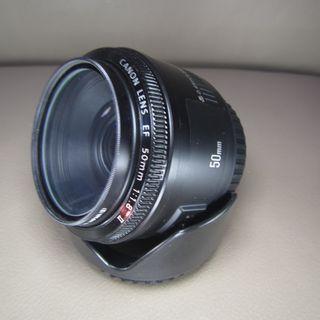 CANON (人像鏡) 50mm f/1.8 II 送名廠保護UV鏡再送遮光罩+$500