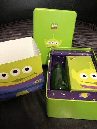 🚚 Innisfree 玩具總動員 三眼怪 鐵盒